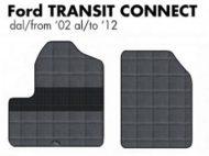 tappeto tappetini pedane furgone unito su misura gomma antiscivolo nuovo new modello ford transit connect del anno 2002 2003 2004 2005 2006 2007 2008 2009 2010 2011 2012 van car