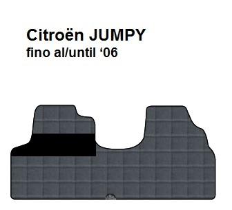 Tappeti Furgone Ciytoen Jumpy fino al 2006 BYERNEST